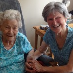 Mom and Mary just a few months before they left us. I have no doubt their friendship remains uninterrupted.